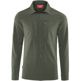 Craghoppers NosiLife Pro III Long Sleeved Shirt Men Dark Khaki